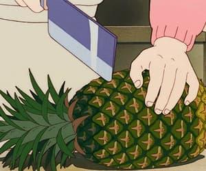 gif, anime, and pineapple image