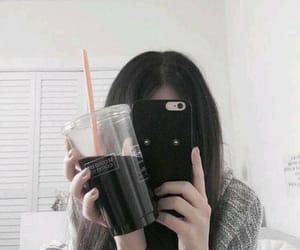 ulzzang, asian, and black image