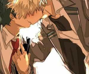 boku no hero academia, anime, and izuku midoriya image