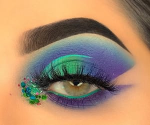 eye, maquillage, and makeup image