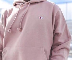 pink, champion, and fashion image