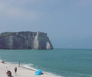 beach, coast, and summer image