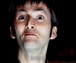 brilliant, david tennant, and doctor who image
