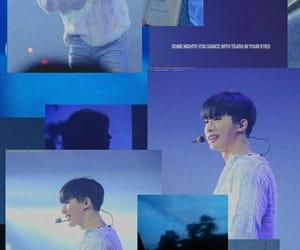 Collage, kpop, and wonho image