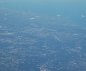 blue, places, and flight image