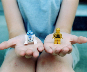 star wars, hands, and lego image