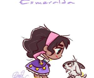 disney, disney princess, and esmeralda image