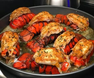food, lobster, and seafood image