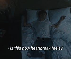 dark, grunge, and heartbreak image