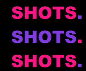 Shots, alcohol, and pink image