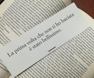 bacio, book, and frase image