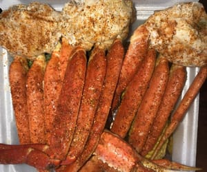 crabs, seafood, and crab legs image