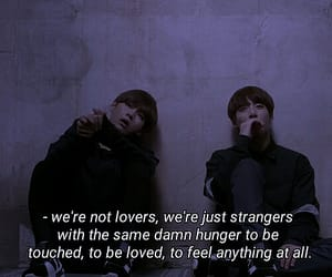 grunge, kpop, and love quotes image