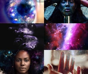 magick, space witch, and witchcraft image