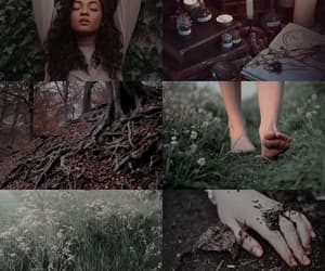 witchcraft, earth witch, and witch aesthetic image