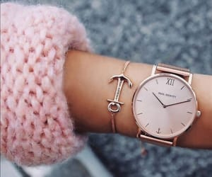accessory, pink, and montre image