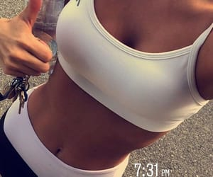 fitness, motivation, and body goals image