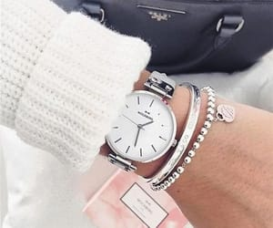 fashion, withe, and montre image