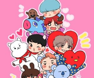 bts, bt21, and jin image