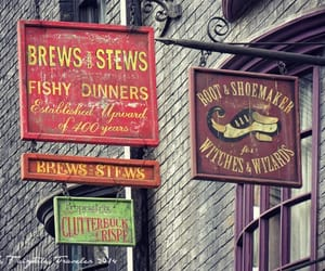 harry potter, hogwarts, and stores image