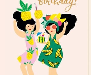 birthday, party, and tropical image