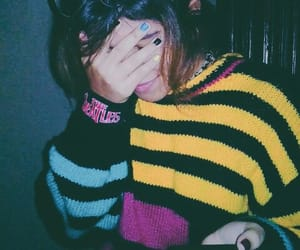 80s fashion, colors, and grunge image
