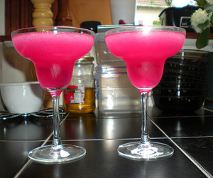 drink, pink, and alcohol image