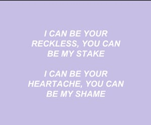 dark side, lilac, and Lyrics image
