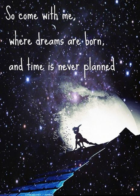peter pan, neverland, and quote image