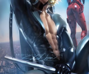Chat Noir, Hot, and art image