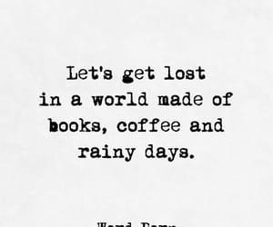 coffee and rainy days image