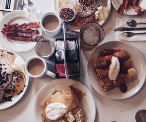 brunch, yum, and coffee image