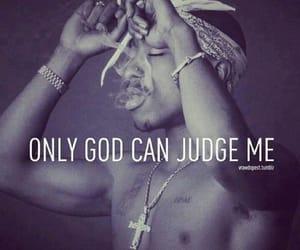 god, 2pac, and tupac image