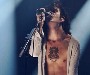 music, the 1975, and matty healy image