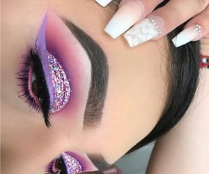 colors, eyeliner, and glitter image