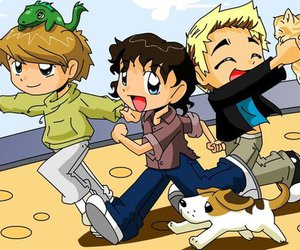 McFly, danny jones, and tom fletcher image