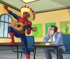 mexican and spiderman image