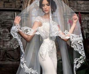 bridal, bride, and beauty image