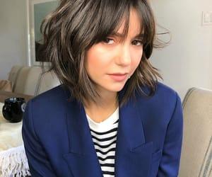 Nina Dobrev, hair, and beauty image