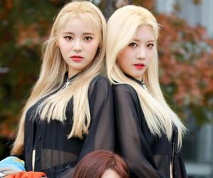 kpop, jinsoul, and kim lip image