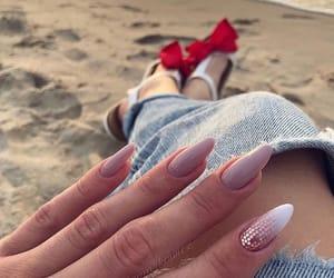 fashion, long, and nail image