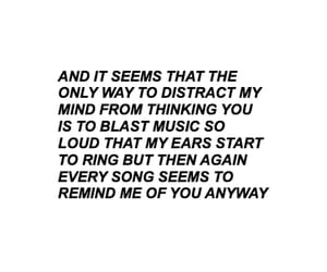 aesthetic, music, and quote image