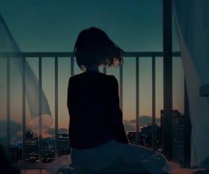 anime, art, and night image