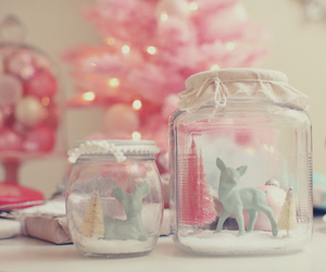 pink, pastel, and bottle image