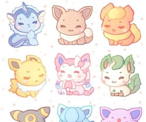 pokemon, cute, and eevee image