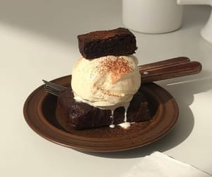food, delicious, and ice cream image