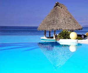 summer, blue, and paradise image