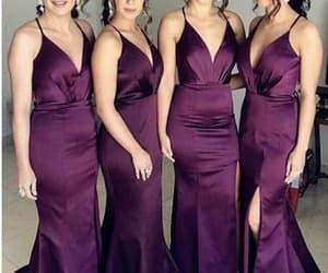 prom dress and bridesmaid dress image