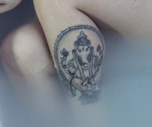 tattoo, Ganesh, and indie image