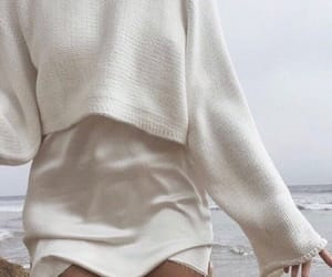 clothes, white, and sea image